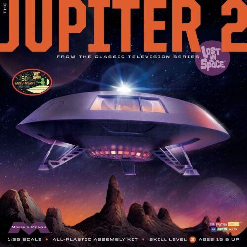 Lost in Space - Jupiter 2 Model Kit 50Th Anniversary