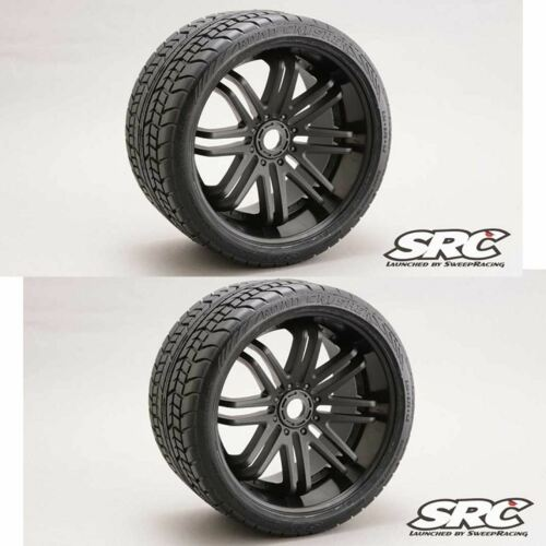 Sweep RC Monster Truck Road Crusher Belted Tire Pre-Glued on