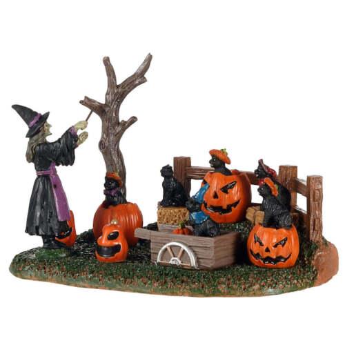 Lemax Spookytown Frightful Feline Choir - 03505