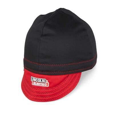 Lincoln Fr Welding Cap Black Red Large K4818-l