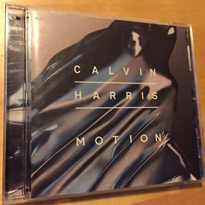 Calvin Harris Motion Cd With Gwen Stefani Tinashe All About She   More
