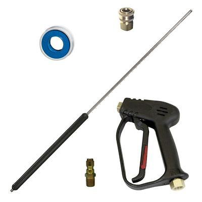 Ar Pressure Washer Spray Gun With 36 Lance 4000 Psi Medium Duty