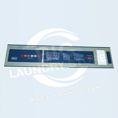 T600 Nameplate Front Label Compatible With Dexter Washer 9412-076-006