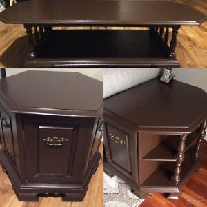 Solid Coffee Table Set (3 piece)