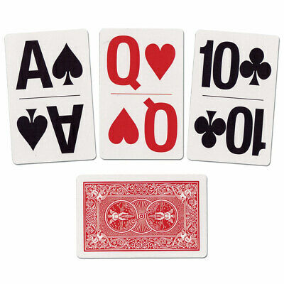 Bicycle Large Print Playing Cards - Standard Size Poker Card