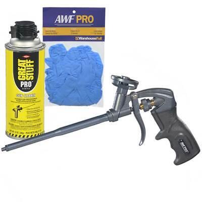 Awf Pro Ptfe Coated Foam Gun One Hand Adjustment Cleaner Nitrile Gloves