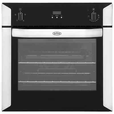Belling BI60FP Built In 60cm Electric Single Oven Stainless Steel New