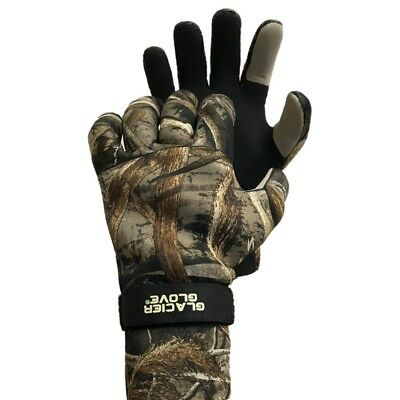 Bristol Bay Fishing - Glacier Glove Bristol Bay Advantage RealTree Max 5 HD Camo Winter Fishing Glove