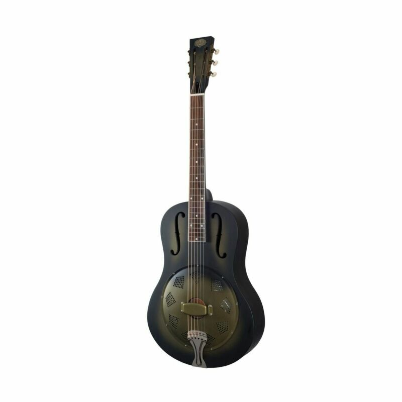 PARAMOUNT Triolian 1929 Midnight Glam Resonator Guitar