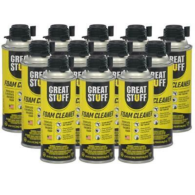 Dow Great Stuff Pro Foam Applicator Cleaner Full Sealed Case Of 12 Cans