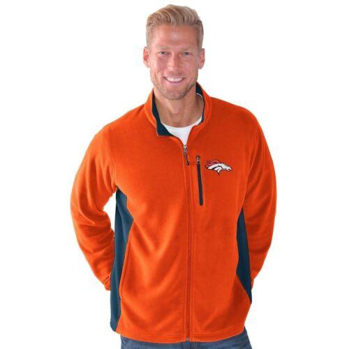 Denver Broncos G-III Sports Men's Instant Replay Full Zip Mi