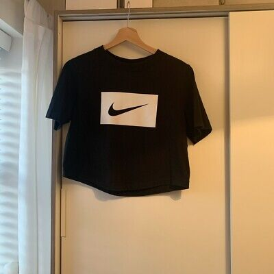 Nike Crop Top Black Size Small