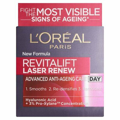 L'Oreal Revitalift Laser Renew Day Cream 50ml Anti Ageing Moisturiser ***NEW***