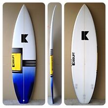 New Surfboard 6'2 Miami Gold Coast South Preview