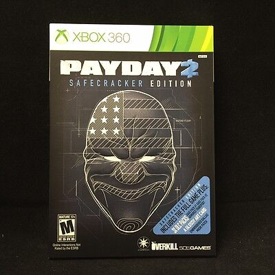 Payday 2  Safecracker Edition   Xbox 360  2014  Brand New   Factory Sealed