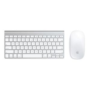 ba829316492 Apple Wireless Keyboard A1314 and Magic Mouse A1296 Bluetooth Set ...
