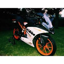 2015 ktm rc390 Mollymook Beach Shoalhaven Area Preview