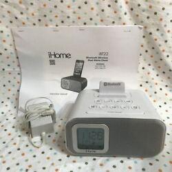 iHome Wireless IBT22 Bluetooth Speaker Stereo Alarm Clock Power Supply Manual