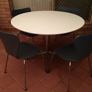 Dining tables and four chairs Murdoch Melville Area Preview