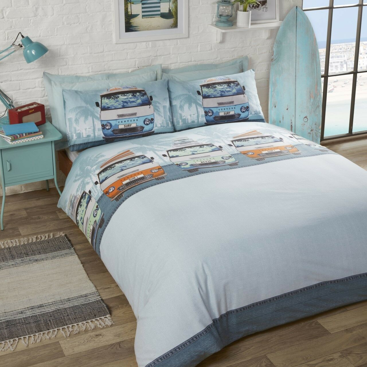 #Bedding Novelty Quirky Bed Sets Duvet Cover Set Polycotton