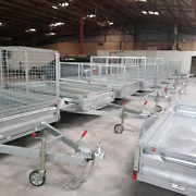Trailer Size 8' x 5 Hot Dipped Galvanised Bayswater Knox Area Preview