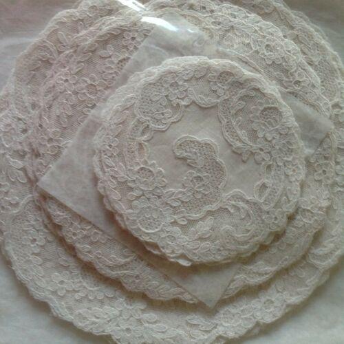 Antique 19 Piece Alencon Lace Set