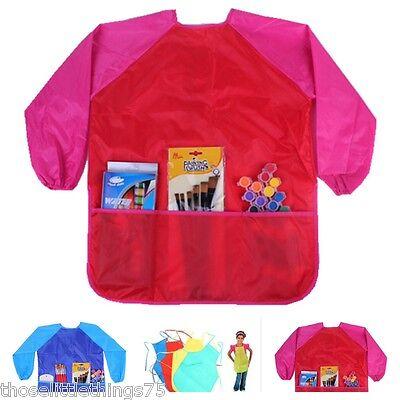 kinder/Kinder handwerk schürze für malerei,die Küche. Kittel,wasserfest mit (Kittel Für Malerei)