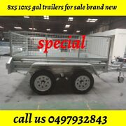 10x5 TDM GAL TRAILER BOX TRAILER BRAND NEW WITH 600MM CAGES HOT DIP GA Noble Park North Greater Dandenong Preview