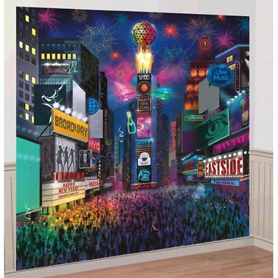 New Years Eve Times Square Scene Setter Wall Decoration Kit](New Years Eve Decoration)