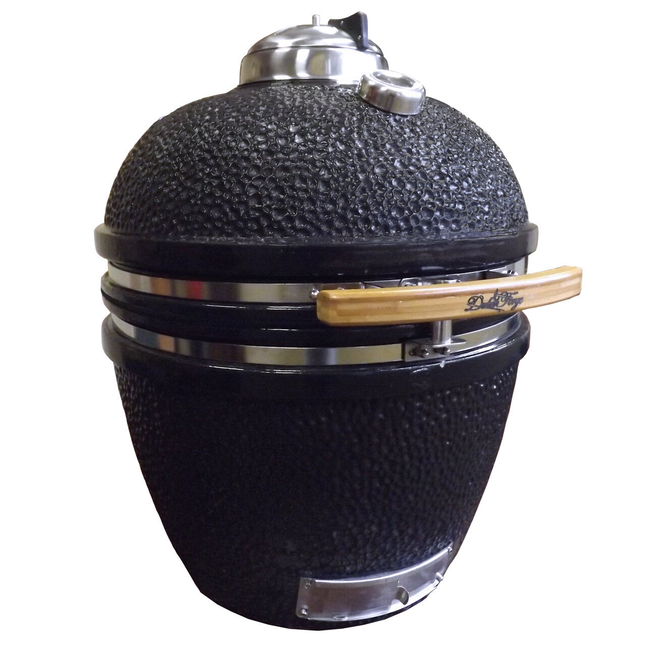 """Duluth Forge 19"""" Kamado Built-In Charcoal Grill with Smoker"""