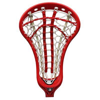 Lists @ $140 Whip 1 White Warrior Evo Warp Pro Strung Lacrosse LAX Head NEW