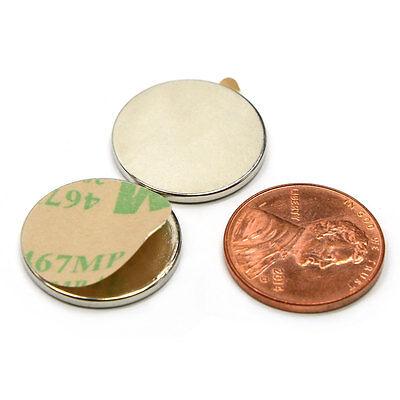 Cms Magnetics N52 Neodymium Magnet 34x 116 W 3m Adhesive - Package Of 10