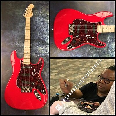 GFA Prince The Revolution * DEZ DICKERSON * Signed Electric Guitar PROOF AD3 COA