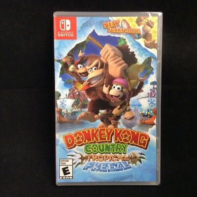 Donkey Kong Country Tropical Freeze  Nintendo Switch  Brand New   Region Free