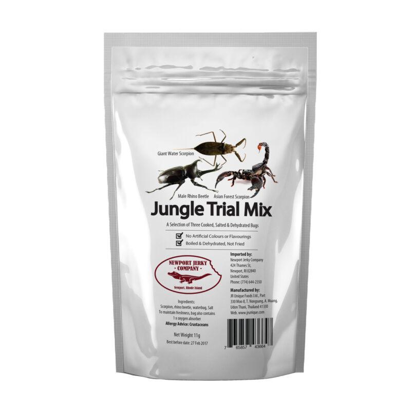 Jungle Trail Mix Edible Bug Sampler 5 Bug Pack