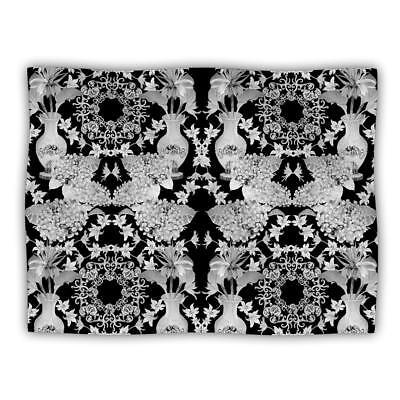 Kess InHouse DLKG Design Versailles Black Dog Blanket, 60 by 50-Inch