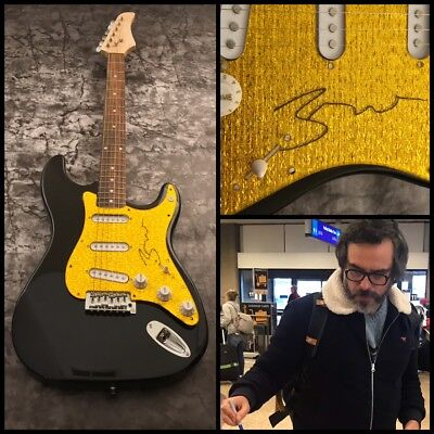 GFA Flight of the Concords * JEMAINE CLEMENT * Signed Electric Guitar AD1 COA