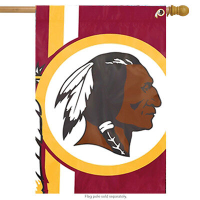Washington Redskins Bold Logo House Flag NFL Licensed Banner Flag  24