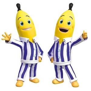 Bananas in Pyjamas Wall Stickers - Totally Movable Melbourne CBD Melbourne City Preview