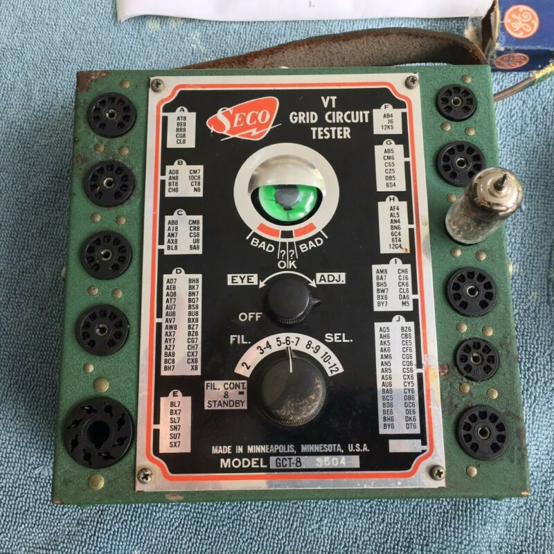 SECO VT Grid Circuit Tester Model GCT-8 - Working Condition Free Shipping