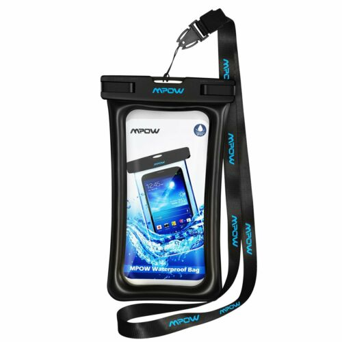 MPOW Underwater IPX 8 Waterproof Case Dry Bag Pouch for Phon