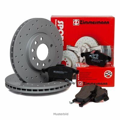 Zimmermann SPORT Bremsscheiben + Beläge für MERCEDES X164 W164 W251 V251 hinten