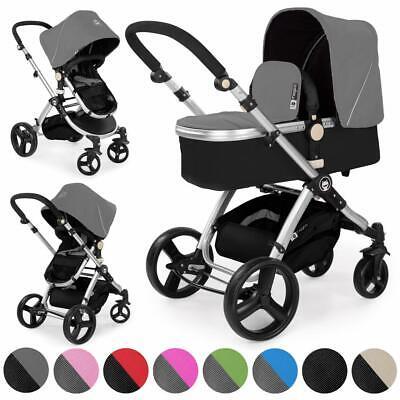 Froggy® Kinderwagen MAGICA Design Kombi-Kinderwagen Sportwagen Buggy Baby Wagen