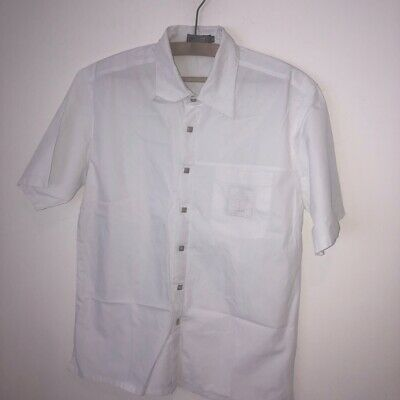 "Gianni Versace Versus White Summer Shirt Size 44"" XL"