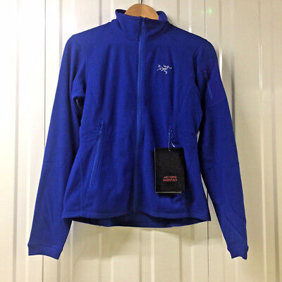 2018 ARCTERYX Delta LT Womens Jacket | Fleece Somerset Blue Large | LT SV Beta