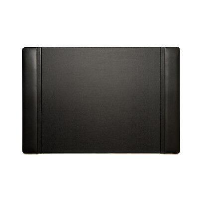 Bey Berk Desk Pad In Black Leather