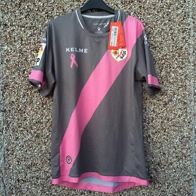 2015 2016 RAYO VALLECANO 3rd FOOTBALL SHIRT BNWT NEW ADULT XL Kelme image