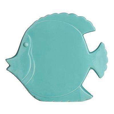 Fish, Turquoise Ceramic