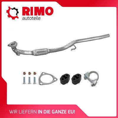 Auspuff VW Polo 6N 1,4TDi  1,7SDi 1,9SDi Endschalldämpfer Endtopf mit Anbausatz
