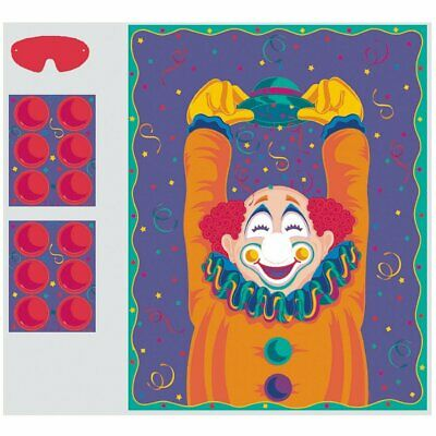 Pin the Nose on the Clown Party Game - Pin The Nose On The Clown